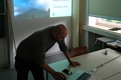 Dr Alessandro Vona lecture on Stromboli eruption 2019
